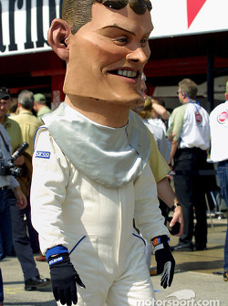 David Coulthard, incognito