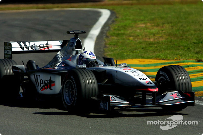 2001: David Coulthard (McLaren-Mercedes MP4-16)