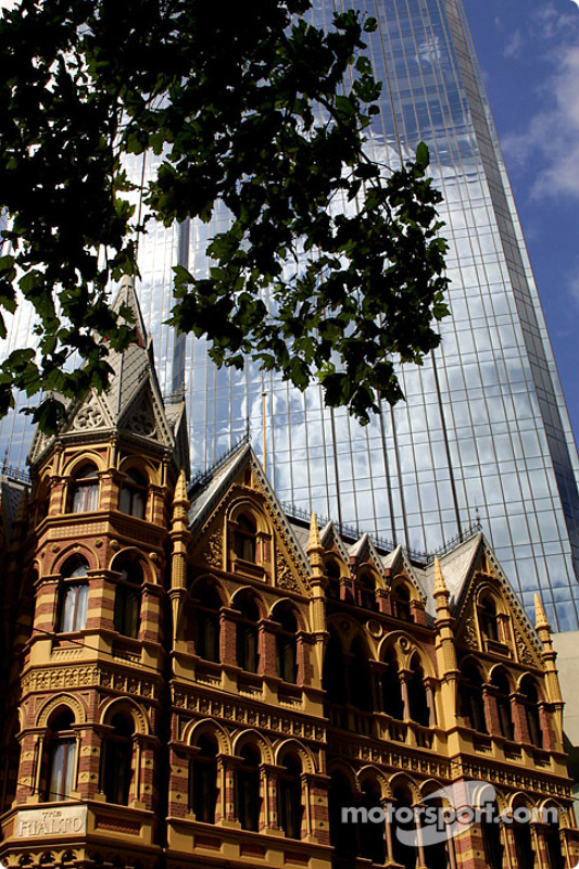 Melbourne old and modern architecture