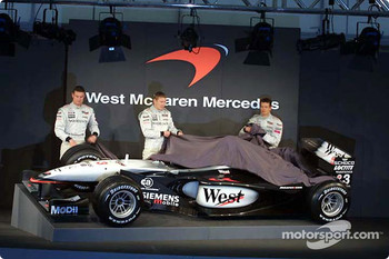 Unveiling the new McLaren