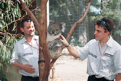Postcard from Australia: Paul, a sleepy Minardi fan, and Fernando