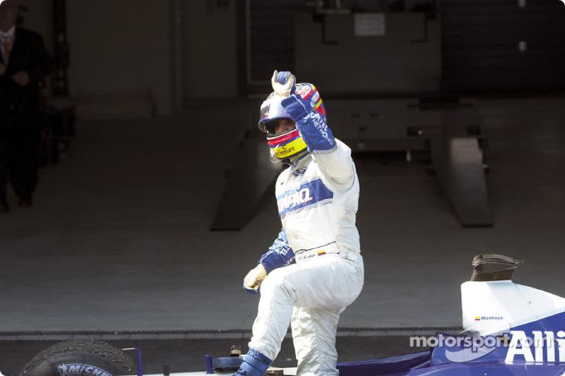 Juan Pablo Montoya after the race