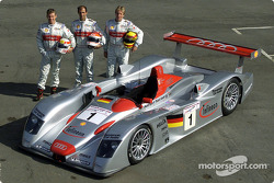Audi Sport Team Joest at scrutineering