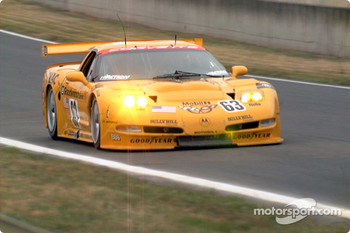 Corvette Racing #63 C5-R: Ron Fellows, Johnny O'Connell, Scott Pruett