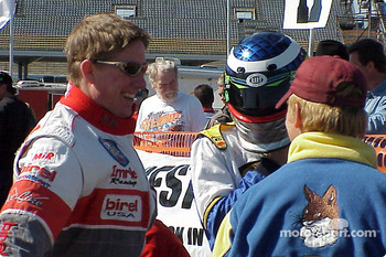 Double Winner Ward Imrie In Sunglasses On The 125-Shifter Grid