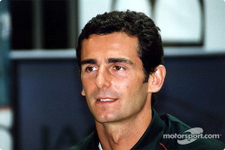 Jaguar Racing and HSBC renew sponsorship: Pedro de la Rosa