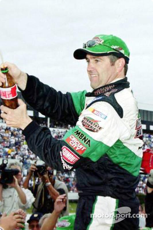 Race winner Bobby Labonte