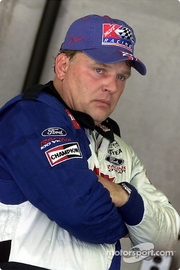 Jimmy Spencer claimed the pole position for the Brickyard 400