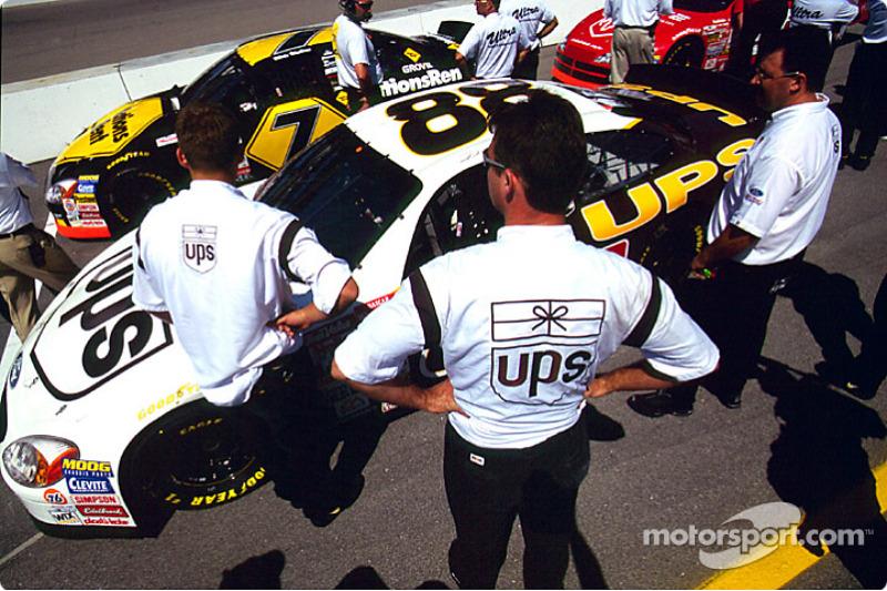 Getting ready for the race: Dale Jarrett
