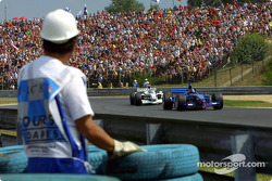 Heinz-Harald Frentzen and Jacques Villeneuve