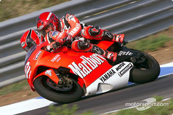 Randy Mamola and a lucky passenger