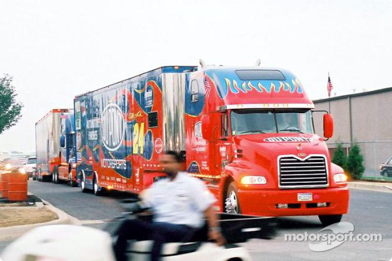 Hendrick Motorsports truck