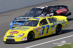 Robert Pressley and Kurt Busch