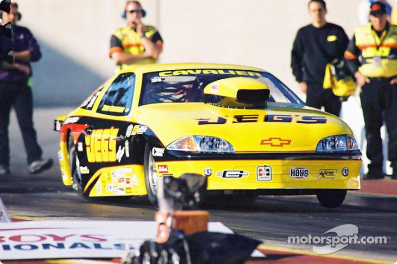 Troy Coughlin won for Jegs' new engine program
