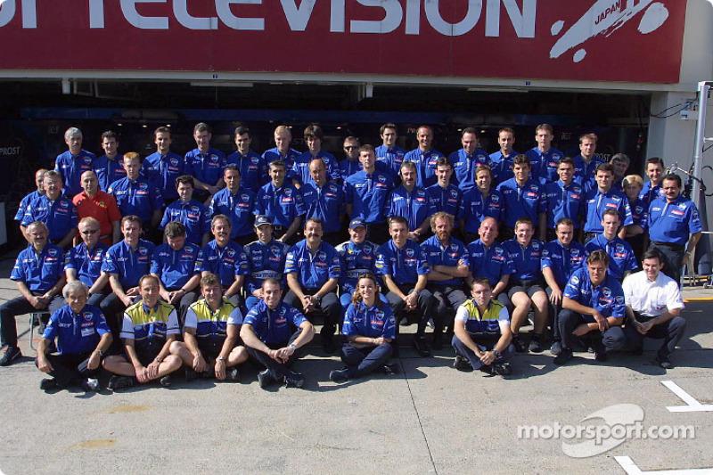 Prost Grand Prix photo session