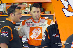 Greg Zipadelli and Tony Stewart