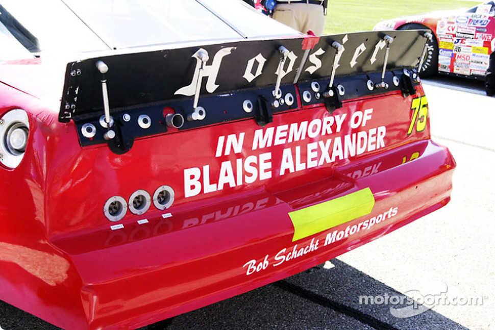 In memory of Blaise Alexander