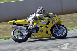Diego Rojas Suzuki 600