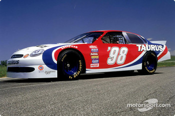 Ford introduced its NASCAR racing version of the Taurus in 1997, for Winston Cup racing in 1998 and beyond