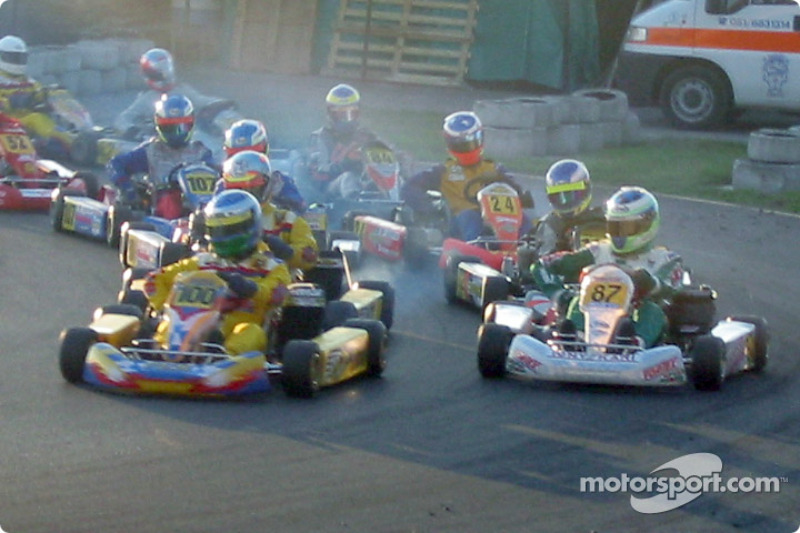 InterContinental A 100cc: start of the race