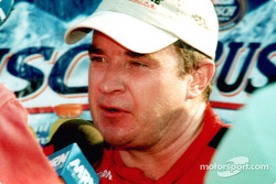 Race winner Joe Nemechek