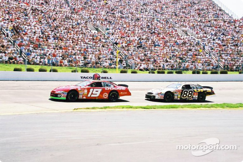 Casey Atwood and Dale Jarrett