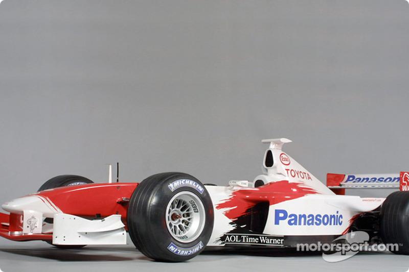 The 2001 Toyota Formula 1 TF102