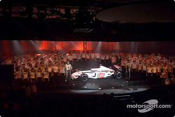 BAR Honda 004 launch