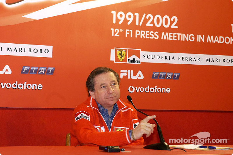 Press conference with Jean Todt