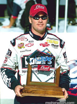 2002 Daytona 500 Bud Pole Award winner Jimmie Johnson