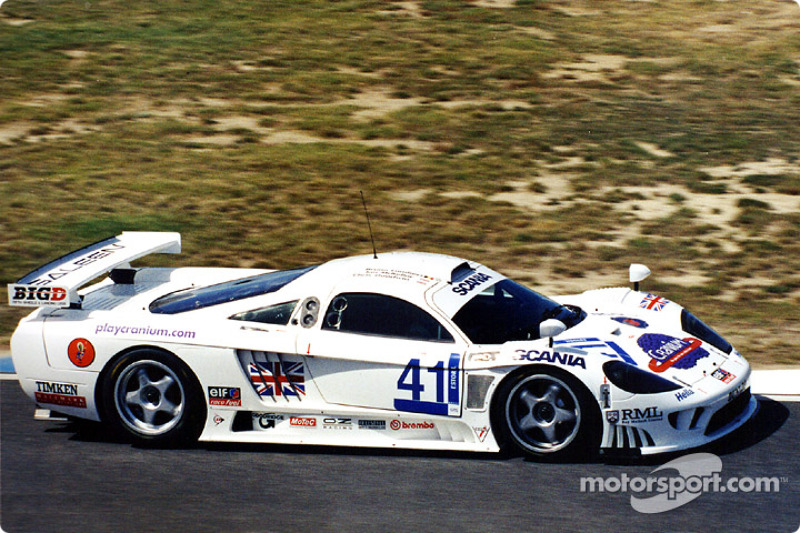 The RML GTS Saleen took 2nd overall although they celebrated their 'outright' win to the fullest after the Courage was temporarily thrown out