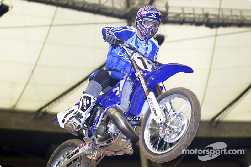 Davis Vuillemin took 2nd. Place in 250cc