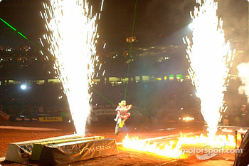 Travis Pastrana's entrance