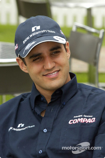 Compaq driver day: Juan Pablo Montoya