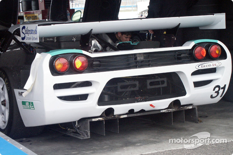 Detail of the #31 Konrad Motorsports Saleen S7R