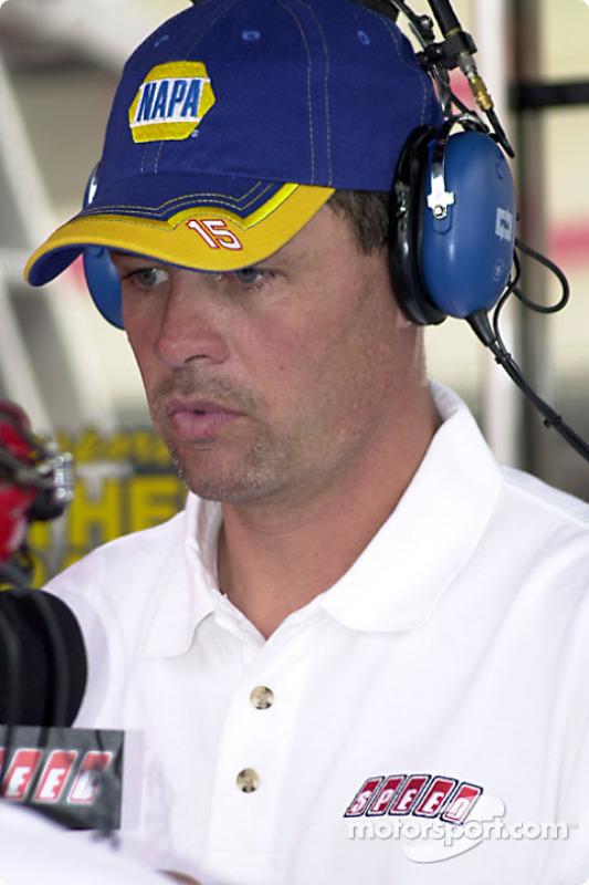 Michael Waltrip on Speed channel