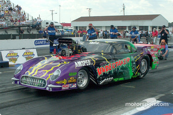 Tommy Gray's the Undertaker Pro Mod car