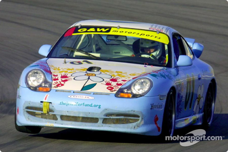 Darren Law captured his first pole of the season in the G&W Motorsports #01 Jennifer Fund Porsche GT3 Cup