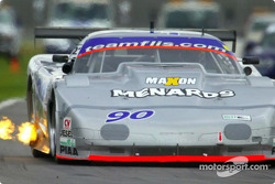 The #90 Flis Motorsports Corvette won the American GT class for the second-straight race