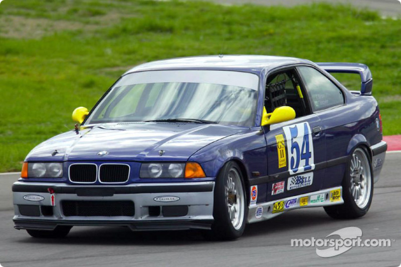 Bell Motorsports' #54 BMW M3 took the GS II lead when the previous leaders knocked each other out during a pass