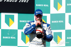 Champagne for Ralf Schumacher