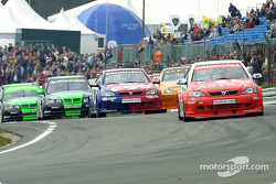 The start of the first race