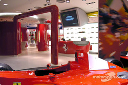 Official opening of Ferrari Store, Maranello: outside view