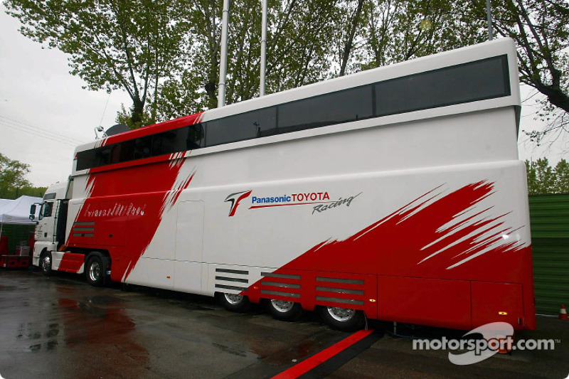 Another New Motorhome At Imola The Panasonic Toyota