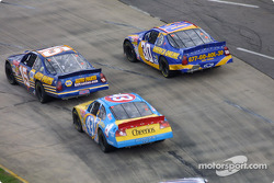 Michael Waltrip, John Andretti and Jeff Green