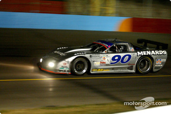 Overall winner in the AGT Class the Menards / Teamflis.com Chevrolet Corvette.