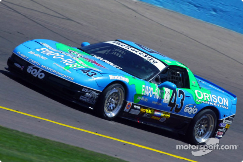 The overall winning car of Planet Earth Motorsports