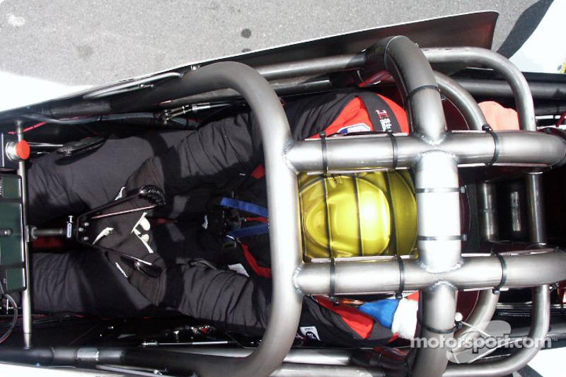 Top Fuel cockpit