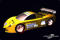The Picchio P2 will compete in the 2003 Daytona Prototypes class of the Rolex Sports Car Series.