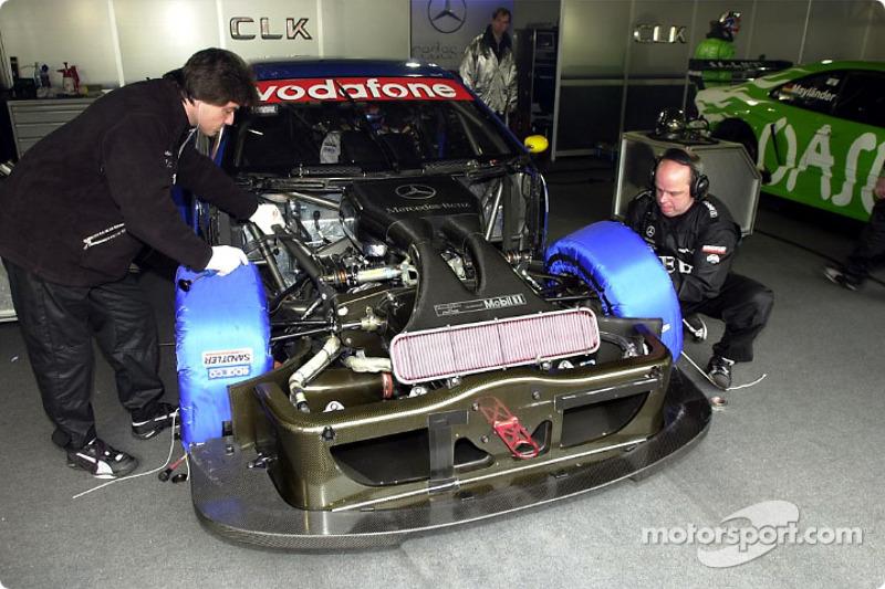 AMG Mercedes-Benz garage area